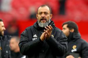 this is what nuno thinks about those brilliant chants from the wolves fans at manchester united