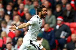 wolves player ratings: magical joao moutinho and ruben neves star in manchester united draw
