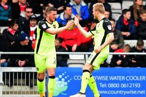 league two round-up - exeter keep imps in sight with late show against cheltenham