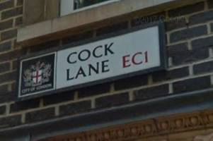 19 of the rudest street names in London