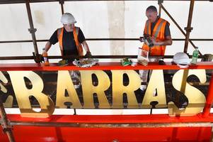 iconic barras gates gets fresh new look to bring sparkle back to glasgow's east end