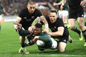 rugby hasn't gone soft - some of the brutal hits in new zealand v south africa clash made me wonder how players even got up!