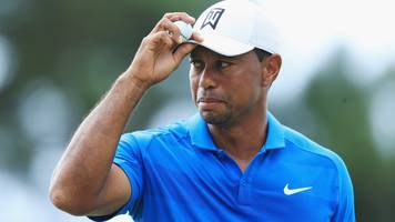 Tiger Woods: leads Tour Championship by three shots in FedEx Cup play-offs