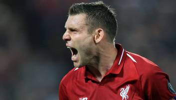 chris sutton claims liverpool's james milner is currently the best english player in premier league