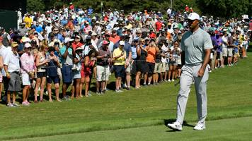 live: tiger woods plays round three of the tour championship