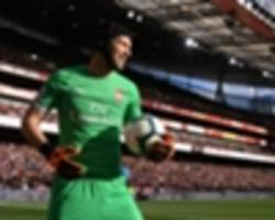 emery hints leno may need patience after cech display