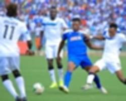 Twitter reacts as Enyimba demolish Rayon Sports to reach semi-final
