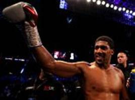 Anthony Joshua knocks out Alexander Povetkin in the seventh round after shaky start