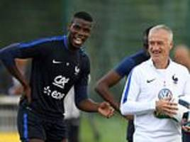 paul pogba is a born leader and was inspirational in france's world cup triumph,
