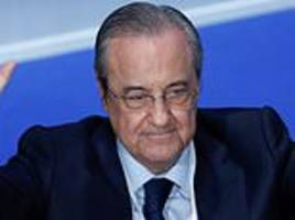 real madrid president florentino perez insists club won't play in the us