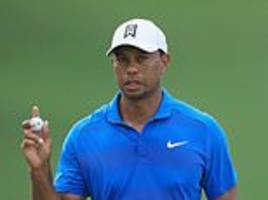 tiger woods is poised to claim his first win in five years and 80th on the pga tour after carding 65