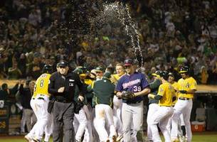twins fall to a's for second straight walk-off loss