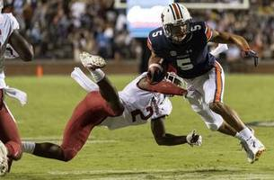 No. 9 Auburn rides special teams to 34-3 win over Arkansas