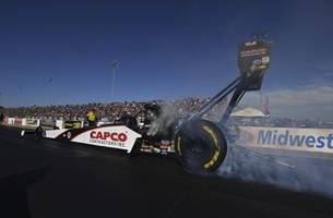 Steve Torrence fastest in Top Fuel qualifying at Gateway