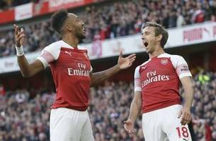 Arsenal beats Everton 2-0 for 5th straight win under Emery