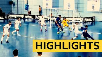 England futsal: England lose 4-0 to Croatia at St George's Park