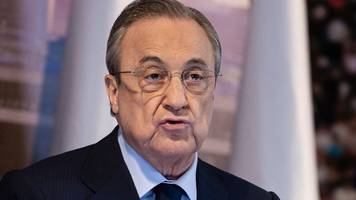 Real Madrid's Perez 'outright rejects' La Liga's USA plans