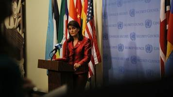 haley: the us 'is not looking to do regime change in iran'