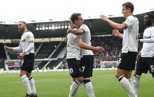 'beautiful stuff' - derby county and brentford fans react to their side's championship clash