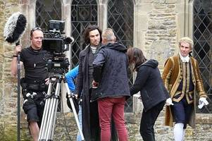 is gloucestershire the new hollywood? poldark, his dark materials and more are being filmed here