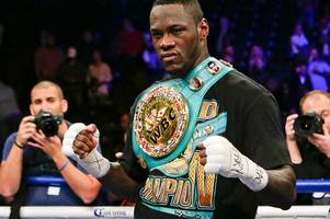 anthony joshua vs deontay wilder fight terms must be agreed soon, says eddie hearn