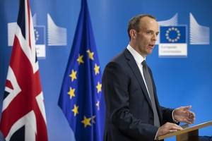 dominic raab rules out snap general election to save may's brexit plan