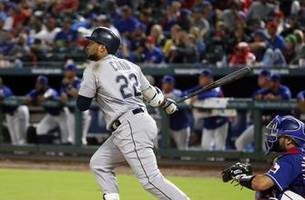 mariners rout rangers 13-0, await final word on elimination