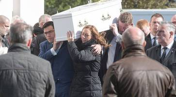 moving funeral for 'very special, loving boy' daniel bradley