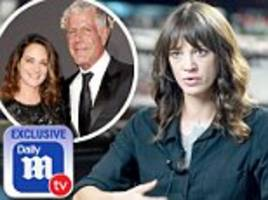 asia argento tells dailymailtv how anthony bourdain's suicide left her in a 'hole'