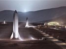 elon musk's reveals 'mars base alpha' red planet outpost and says it could be complete by 2028