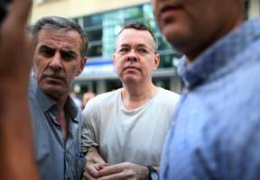 turkey's currency surges more than 3% on hopes a detained american pastor will be released