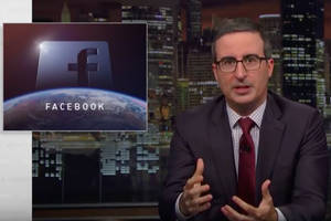 John Oliver Craps on Facebook: 'Calling Facebook a Toilet Is a Little Unfair to Toilets' (Video)