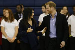 Adorable way Prince Harry and Meghan Markle celebrated netball win at Loughborough University