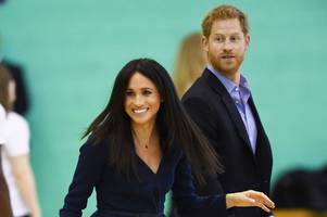 What happened on Prince Harry and Meghan Markle's first visit to Leicestershire