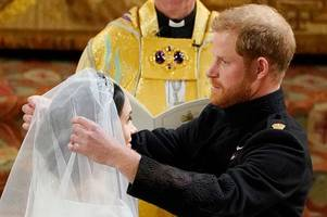 the touching secret meghan markle kept from prince harry until their wedding day
