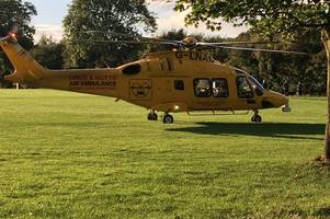 Air ambulance called to incident at Central Park in Scunthorpe