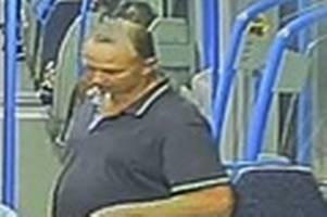 cctv released after man 'struck young girl' on thameslink train between redhill and east croydon