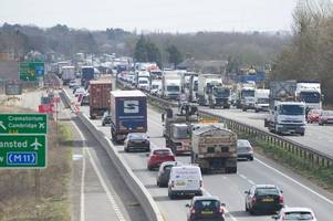 live: traffic and travel in and around cambridgeshire