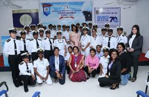 "international women seafarers foundation ""vision connect - chennai 2018"": a step to bridge gaps"