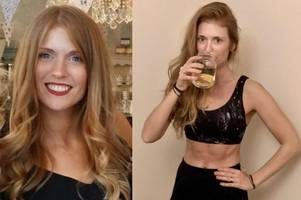 businesswoman drinks own urine every morning and dabs it on her face to look fresh