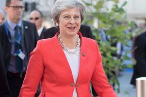 the 'hills are alive with the sound of a shambles' in theresa may's salzurg trip