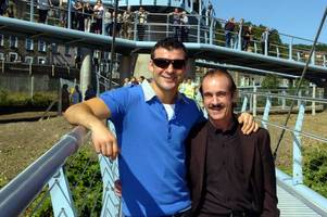 welsh boxing legend joe calzaghe's heartbreaking personal letter to his dad enzo