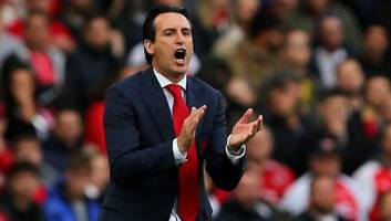 unai emery says arsenal won with 'a smile' after strong second half performance against everton