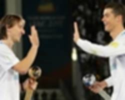 Modric: Ronaldo, Messi out of this world but my season deserved recognition