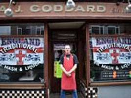 historic pie and mash shop that is a favourite to singer professor green to close after 128 years