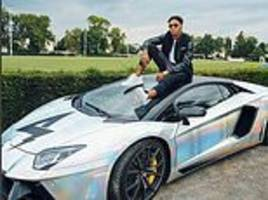 Arsenal ace Pierre-Emerick Aubameyang fined £1,250 after being caught doing 99mph in his Lamborghini