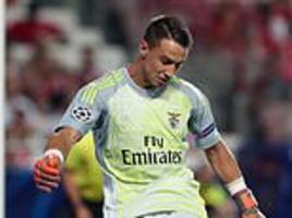 Arsenal and Manchester United 'among clubs watching Benfica keeper'