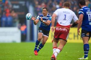 Bath Rugby's Christmas and New Year fixtures confirmed