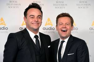 Ant McPartlin sends hilarious birthday message to presenting partner Dec Donnelly