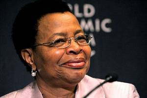 nelson mandela's widow urges world to put egos aside and end violence
